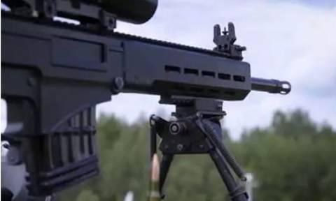 Путин опробовал снайперскую винтовку