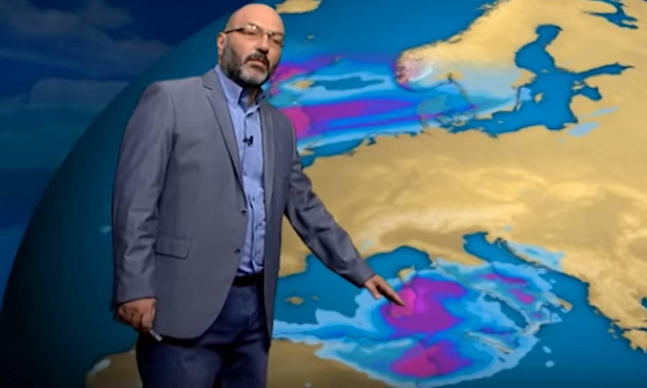 Καιρός: Χτυπάει κόκκινο ο υδράργυρος το Σαββατοκύριακο! H ανάλυση του Σάκη Αρναούτογλου (video)