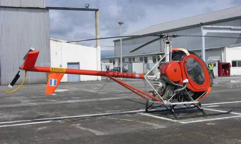 Training helicopter makes forced landing