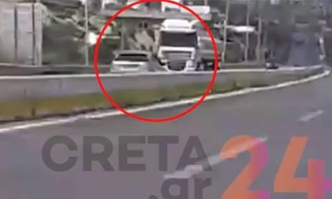 Κρήτη: Οδηγούσε για χιλιόμετρα στο αντίθετο ρεύμα της Εθνικής (vid)