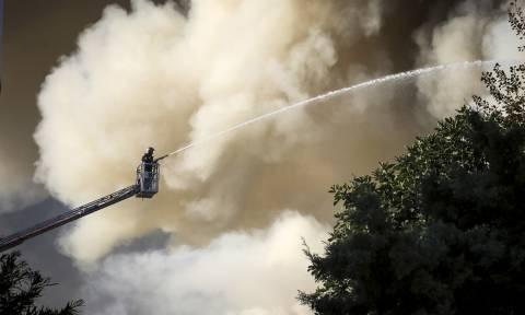 Φωτιά ΤΩΡΑ στο Πανεπιστήμιο Κρήτης - Ακούγονται εκρήξεις (vids+pics)