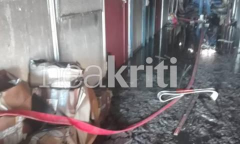 Φωτιά: Έκκληση για βοήθεια στους φοιτητές του Πανεπιστημίου Κρήτης - Νέες εικόνες καταστροφής (pics)