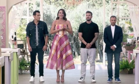 Bake off Greece: Η εντυπωσιακή πρεμιέρα με την Ιωάννα Τριανταφυλλίδου σε ρόλο παρουσιάστριας