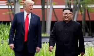 Τραμπ: Σύντομα η δεύτερη συνάντηση με τον Κιμ Γιονγκ Ουν