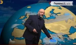 Ο Σάκης Αρναούτογλου προειδοποιεί για την κακοκαιρία: «Προσοχή όσοι βρίσκεστε στη Δυτική Ελλάδα»