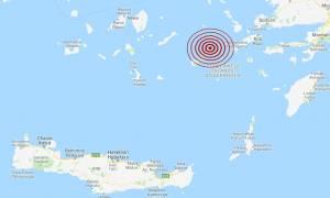 Σεισμός μεταξύ Κω και Αστυπάλαιας