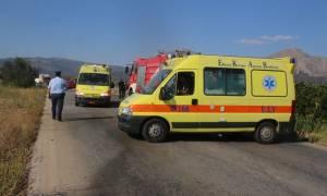 Τροχαίο στην Πάτρα: Αυτοκίνητο έπεσε σε ποτάμι