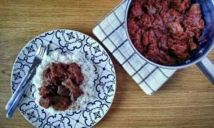 Νόστιμη συνταγή: Συκώτι κοκκινιστό με ρύζι