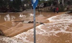 Κυκλώνας «Ζορμπάς»: Εικόνες χάους κατέγραψε drone πάνω από την Αργολίδα (video)