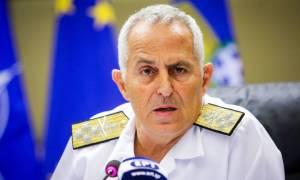 Αυστηρό μήνυμα του Αρχηγού ΓΕΕΘΑ στον Τούρκο ομόλογό του για τις παραβιάσεις