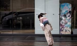 Χάος και δεκάδες τραυματίες στην Ιαπωνία από τον τυφώνα Τράμι (pics+vid)