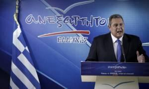 «Βόμβα» Καμμένου: Άκυρο το δημοψήφισμα στα Σκόπια