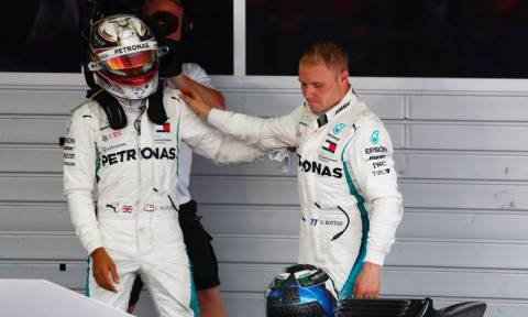 Formula 1: Ο Μπότας έκανε «τσάρο» τον Χάμιλτον στο Σότσι (pics+vid)