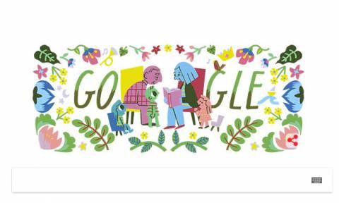 Ημέρα του Παππού και της Γιαγιάς 2018: Τo doodle της Google για την ημέρα των ηλικιωμένων