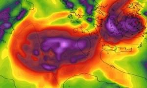 Κυκλώνας Ζορμπάς: Μας αποχαιρετά με έντονα φαινόμενα ως το βράδυ σε αυτές τις περιοχές (χάρτες)