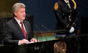 Δημοψήφισμα Σκόπια: «Ο λαός απέρριψε τη Συμφωνία των Πρεσπών» υποστηρίζει ο Ιβάνοφ