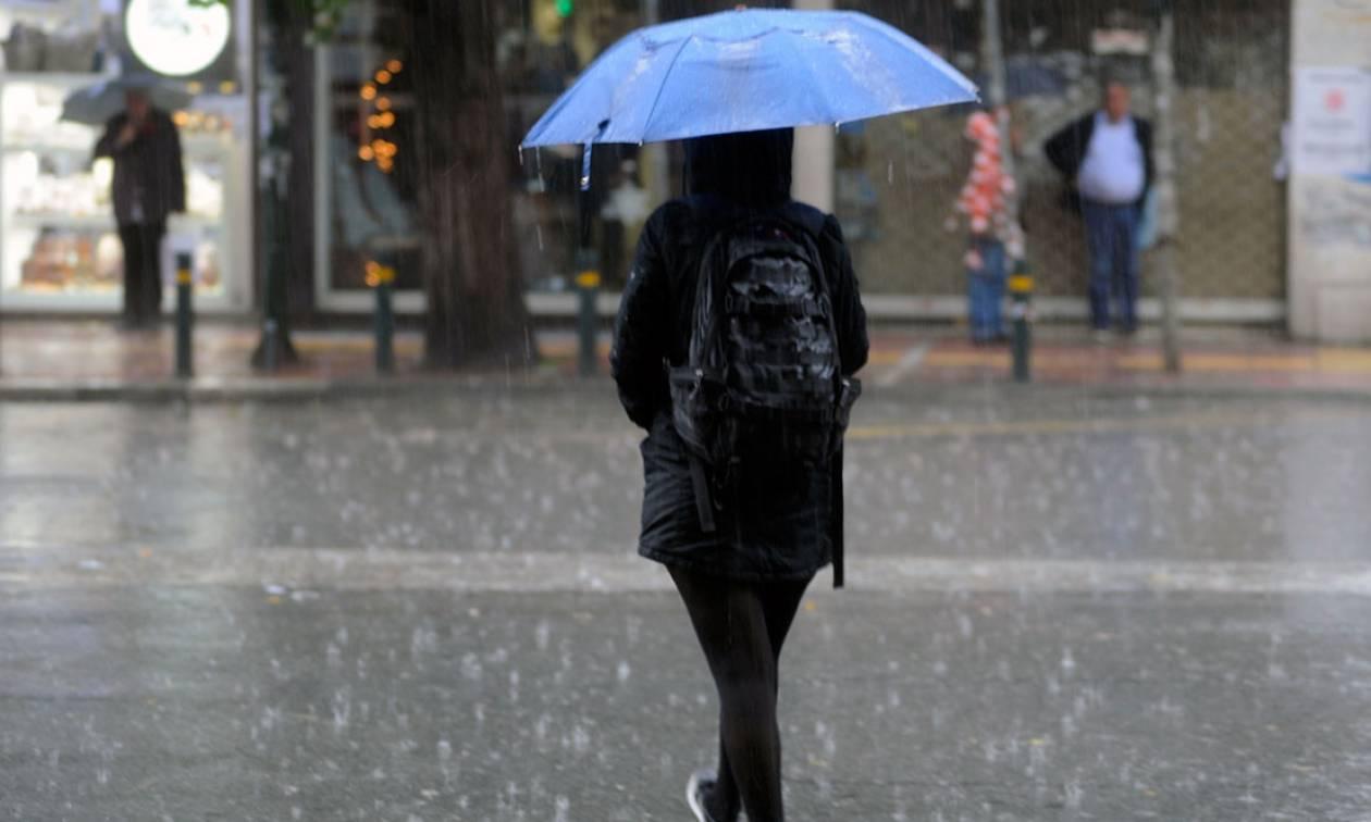 Βροχερό το σκηνικό του καιρού την Τετάρτη (3/10) - Σε ποιες περιοχές θα βρέξει