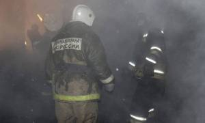 Συναγερμός στη Ρωσία: Φωτιά σε εμπορικό κέντρο