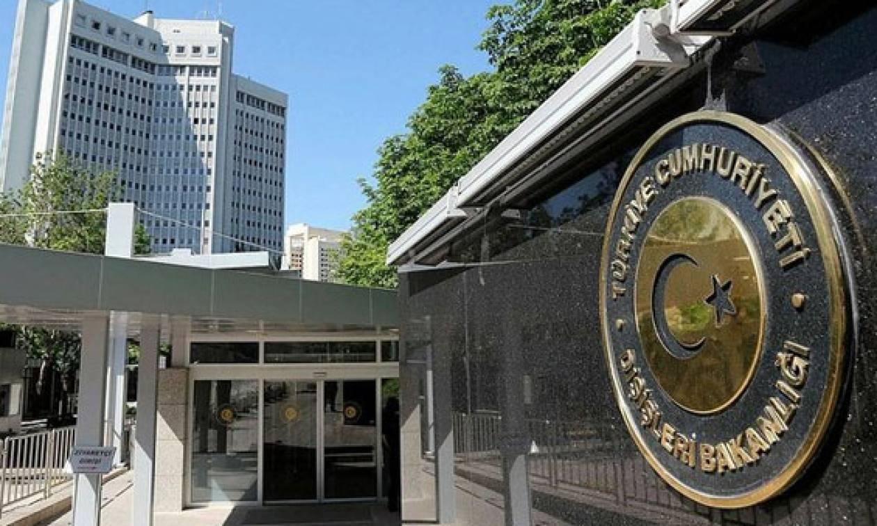 Προκλητική ανακοίνωση του τουρκικού ΥΠΕΞ: Θα συνεχίσουμε να στηρίζουμε τη φίλη «Μακεδονία»