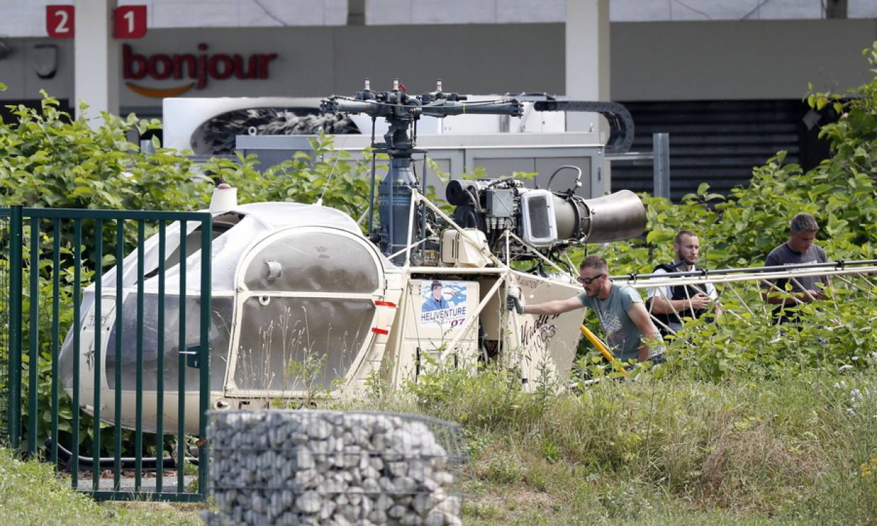 Γαλλία: Συνελήφθη ο διαβόητος ληστής που είχε αποδράσει από τη φυλακή με ελικόπτερο (pics)