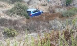 Πάφος: Αυτοκίνητο έπεσε σε γκρεμό - Άγιο είχαν οι επιβάτες