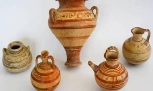 Απίστευτο! Βρήκαν ίχνη ναρκωτικών σε κυπριακούς αμφορείς 3000 χρόνων (Pic)