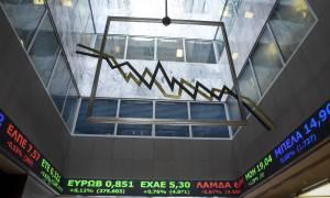 Χρηματιστήριο: «Μαύρη» Τετάρτη με τραπεζικό κραχ