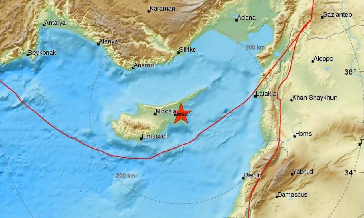 Σεισμός κοντά στην Αμμόχωστο (pics)