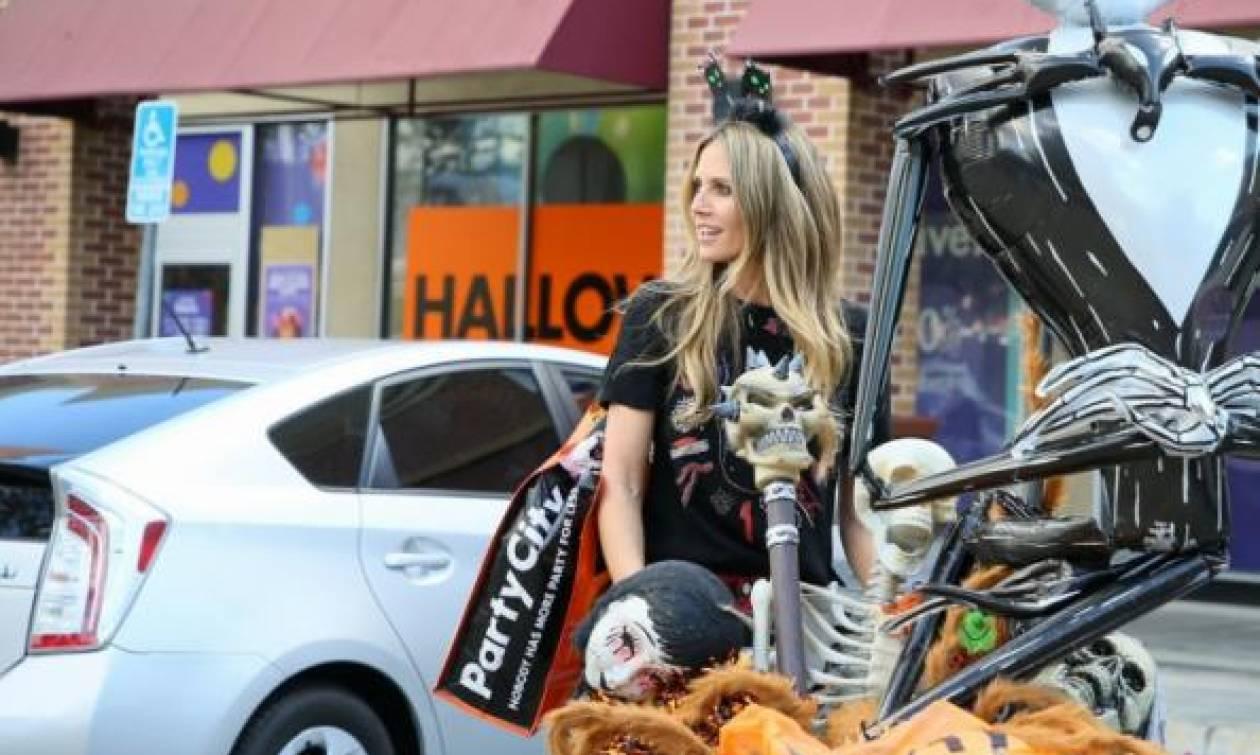 Να τι ψώνισε η Heidi Klum για το Halloween!