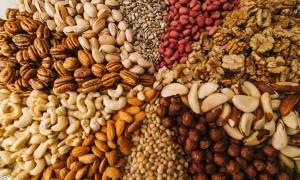 Οι 6 κορυφαίοι ξηροί καρποί για την υγεία