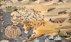 Σαν σήμερα το 1825 λήγει η πρώτη φάση της δεύτερης πολιορκίας του Μεσολογγίου από τον Κιουταχή