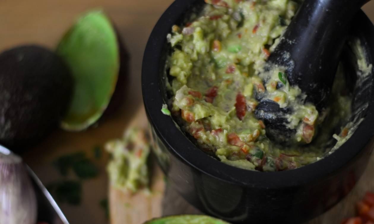 Συνταγή για υπέροχο Guacamole