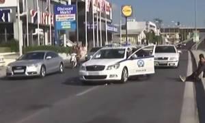 Κινηματογραφική καταδίωξη με πυροβολισμούς στη Θεσσαλονίκη (pics+vid)