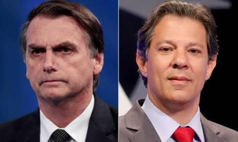 Jair Bolsonaro: Far-right candidate wins first round of Brazil election