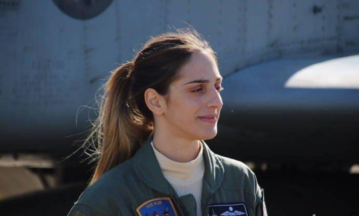 Αυτή είναι η Ελληνίδα πιλότος που έκανε τους Αμερικανούς να υποκλιθούν