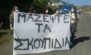 Τα σκουπίδια «έπνιξαν» την Κέρκυρα: Αποχή μαθητών σε ένδειξη διαμαρτυρίας για την κατάσταση (pics)