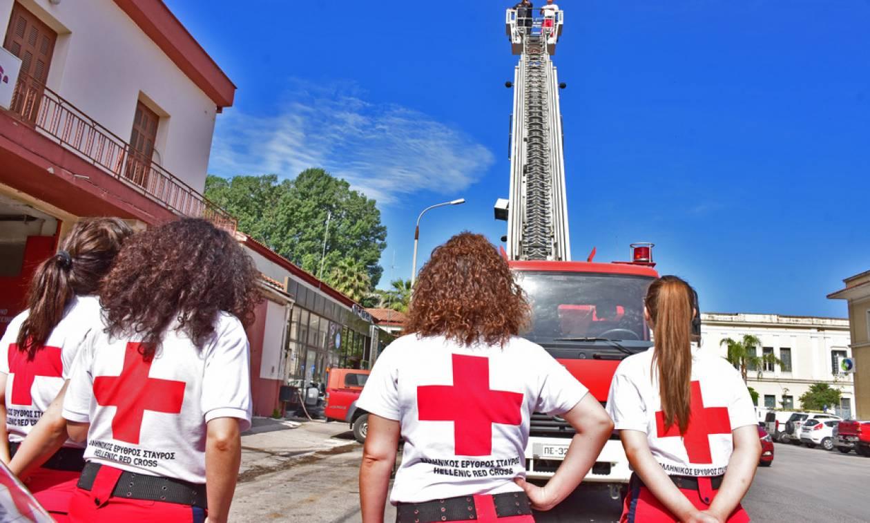 Οι εργαζόμενοι του Ερυθρού Σταυρού κατά της διοίκησης Οικονομόπουλου