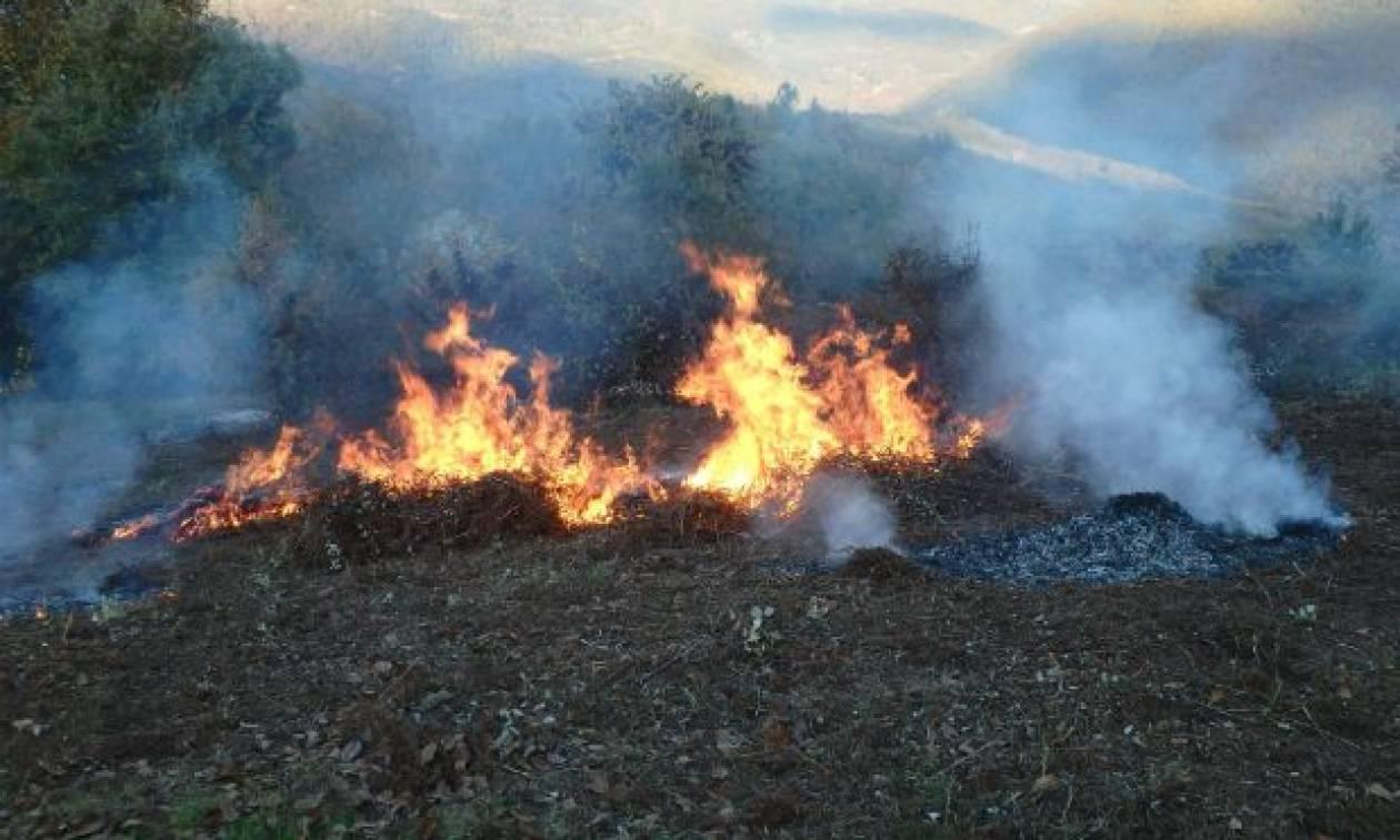 Τραγικός θάνατος άνδρα στα Τρίκαλα: Κάηκε ζωντανός στο περιβόλι του