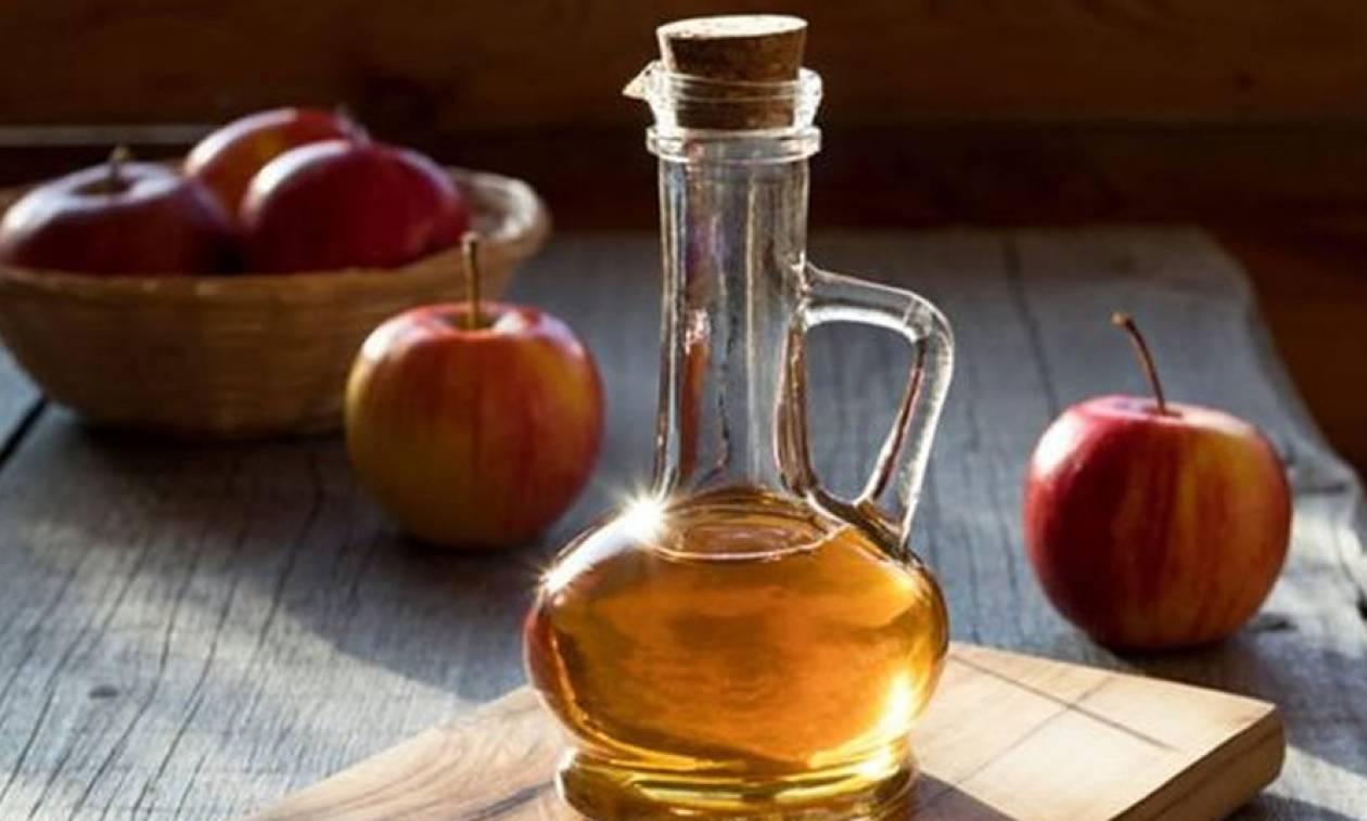 Βάλε το μηλόξυδο στη ζωή σου και δεν θα χάσεις...