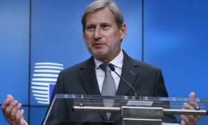Νέα παρέμβαση Χαν για Σκοπιανό: Απαράδεκτες οι ενέργειες της αντιπολίτευσης