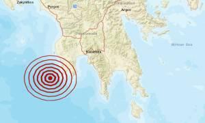 Σεισμός ΤΩΡΑ κοντά στη Μεθώνη (pics)