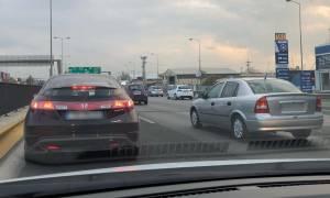 Κίνηση στους δρόμους: Ουρά χιλιομέτρων ΤΩΡΑ στην Ε.Ο. Αθηνών - Λαμίας μετά από τροχαίο