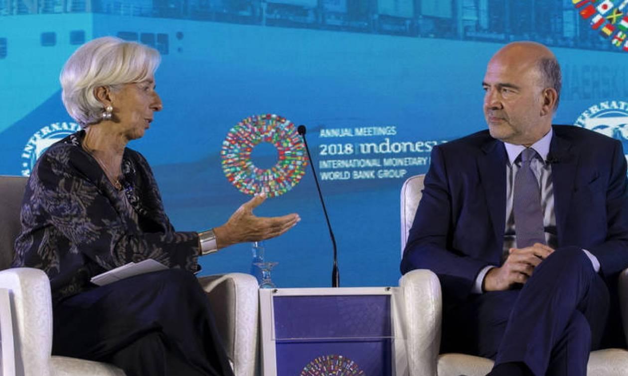 Θετικές αναφορές από την Κομισιόν για την Ελλάδα στη σύνοδο του ΔΝΤ
