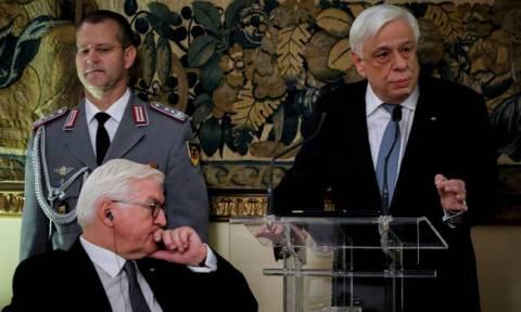 Павлопулос на встрече с Штайнмайером поднял вопрос о военных репарациях