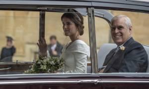 Βρετανία: Ο παραμυθένιος γάμος της πριγκίπισσας Ευγενίας (pics+vid)