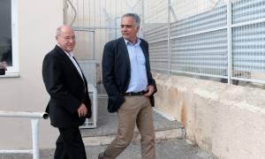 Μήνυμα κατά του φασισμού: Σκουρλέτης και Γκίζι παρακολούθησαν τη δίκη της Χρυσής Αυγής