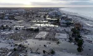 Φλόριντα: Εικόνες «βιβλικής καταστροφής» και 12 νεκροί από το φονικό τυφώνα «Μάικλ» (vids+pics)