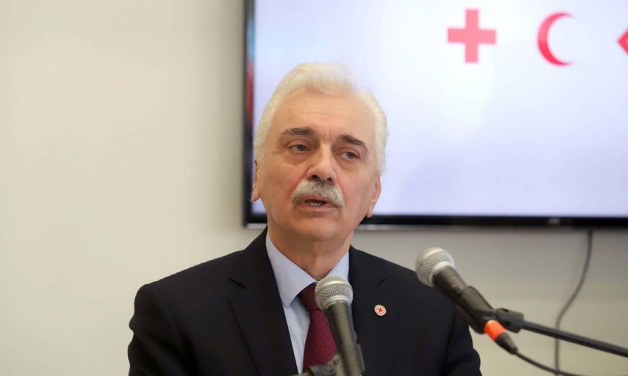Ερυθρός Σταυρός: Αυγερινός - Εμείς κάναμε το καθήκον μας, φτιάξαμε δημοκρατικό καταστατικό
