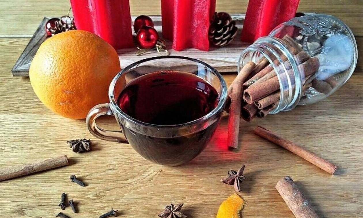 Συνταγή για ζεστό γλυκό κρασί Glühwein