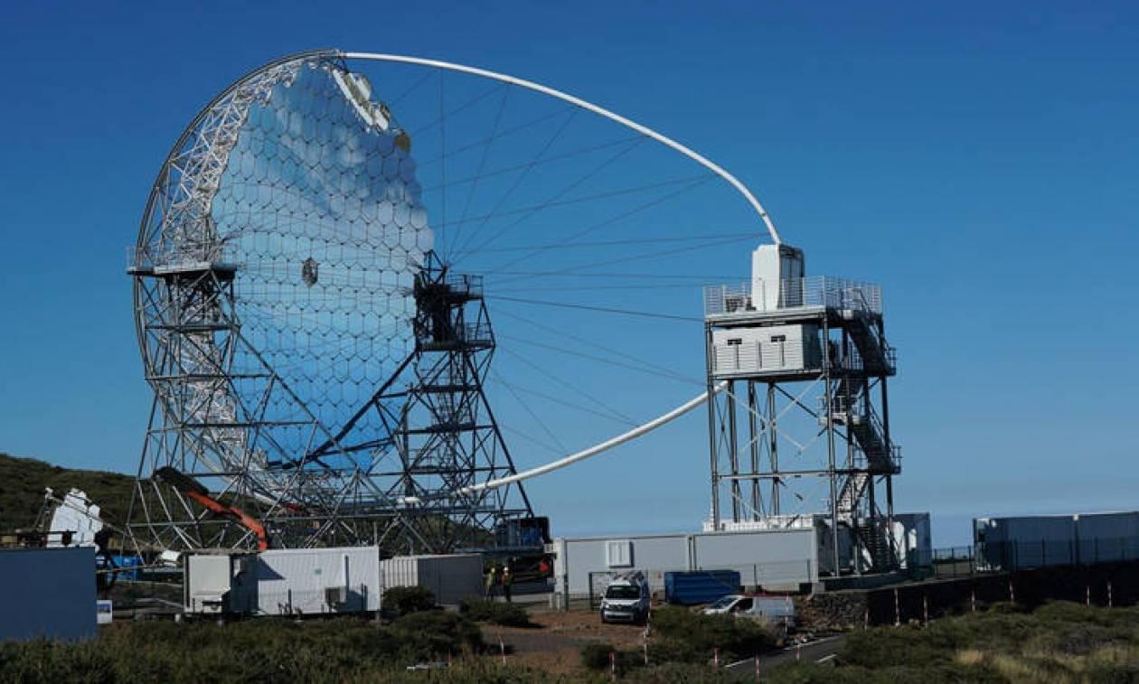 Εγκαινιάστηκε στην Ισπανία το πρώτο επίγειο τηλεσκόπιο ακτίνων γάμα